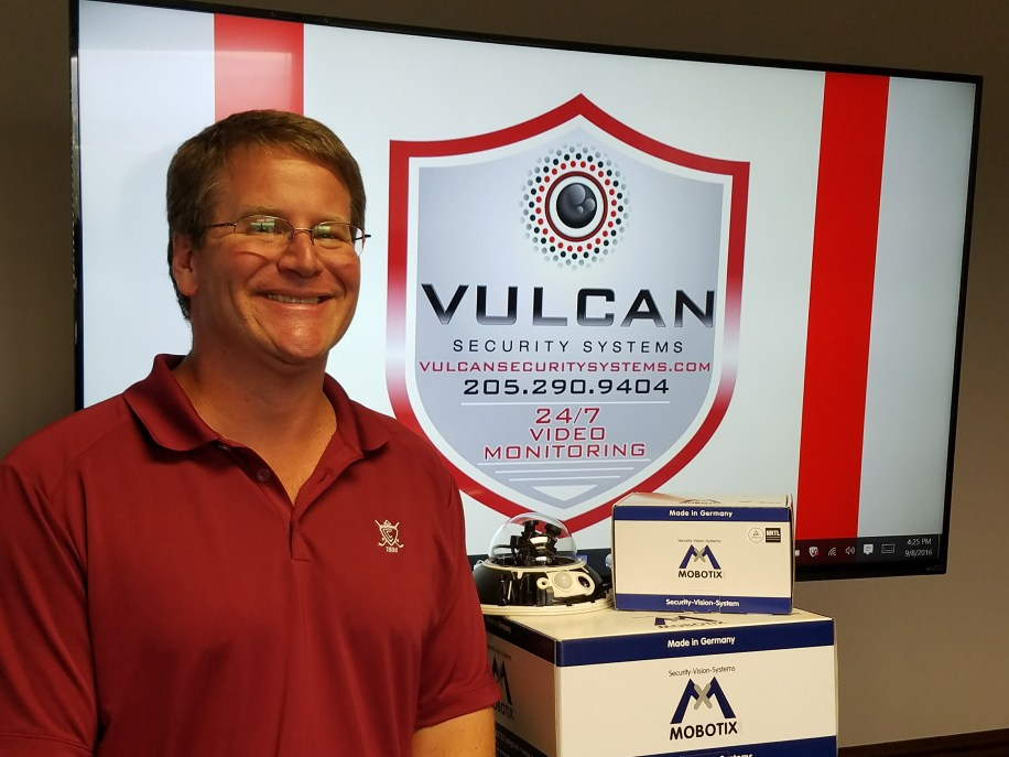Vulcan Security Systems Birmingham Alabama CEO Jason Maddox, Phone 205-290-9404 vulcansecuritysystems.com Locally-owned, serving all of Alabama for commercial security solutions