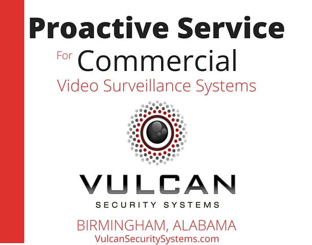 Proactive Service for Commercial Video Surveillance Systems | Vulcan Security Systems