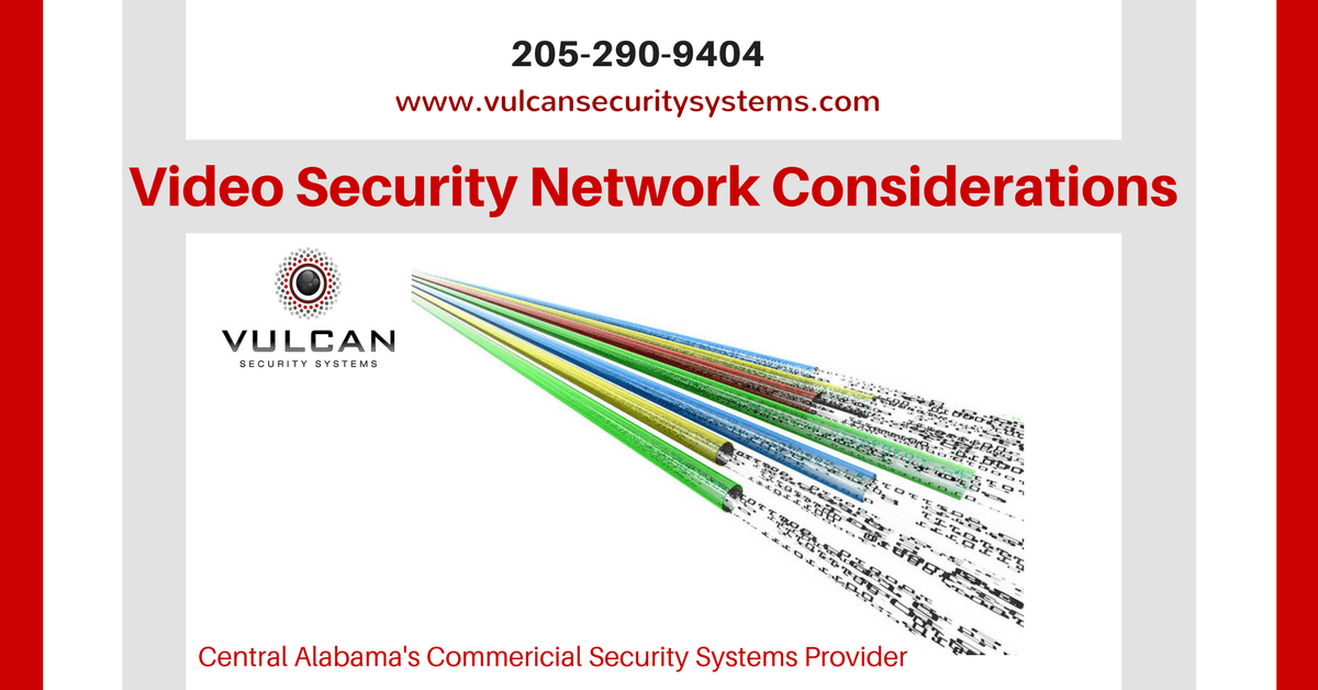 Network Options for Video Security Systems | Vulcan Security Systems