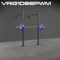 One Deep Wall Mounted Pull up Rig and Squat Rack | Vulcan ...