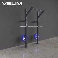 Buy Slim Fit Wall Mounted Pull Up Rig and Squat Rack ...