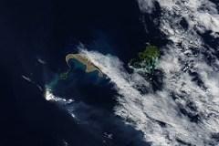 Unterwasservulkan bei Tonga