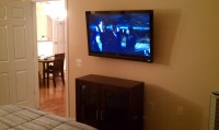 Flat Screen TV Mounting,TV Installation on Regular Drywall