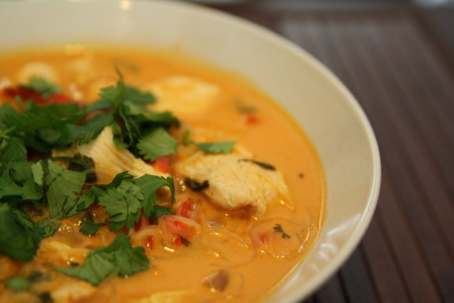Maggi Thai Soup with Vegetable