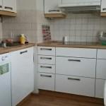 Keittiössä mm. tiskikone
