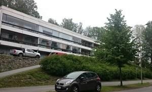 Iso asunto Tyysterniemessä, Tyysterniementiellä.