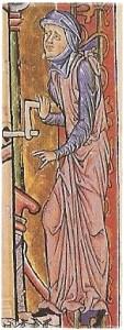 Schlupfärmel Goslarer Evangeliar
