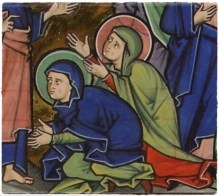 Cappa in ovaler Form - Mainzer Evangeliar