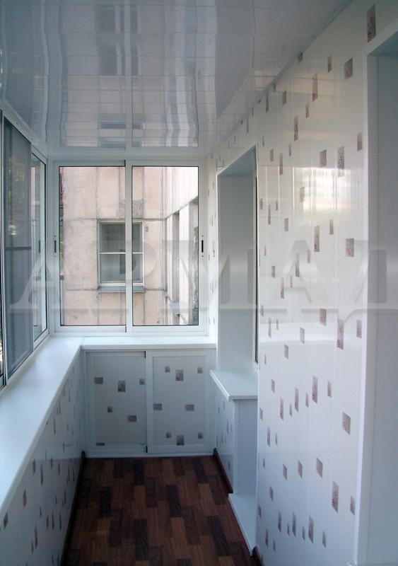 Balkon efterbehandling
