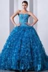 Winter Quinceanera Dresses Blue