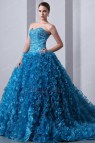 Blue Ball Gown Quinceanera Dresses