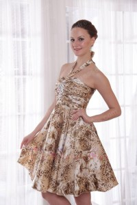 Leopard Prom Dress - Gown And Dress Gallery