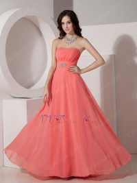 Watermelon Colored Bridesmaid Dresses - High Cut Wedding ...
