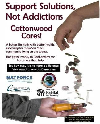 """Cottonwood Cares"" Encourages a Hand Up, Not a Hand Out"