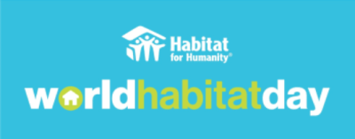 A little rain didn't stop Habitat for Humanity from our mission!