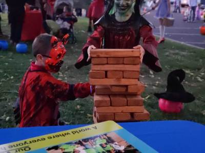 Halloween fun at Trunk or Treat in Rimrock with Habitat for Humanity