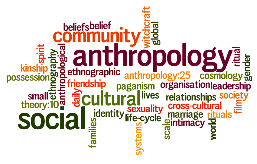 Anthropology: the study of human societies and their development.
