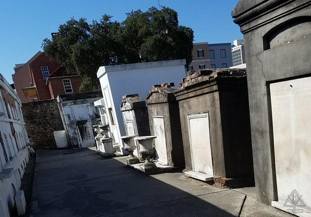 St. Louis Cemetery No. 1, 1539 Jackson Ave, Suite 415, New Orleans, LA 70130.