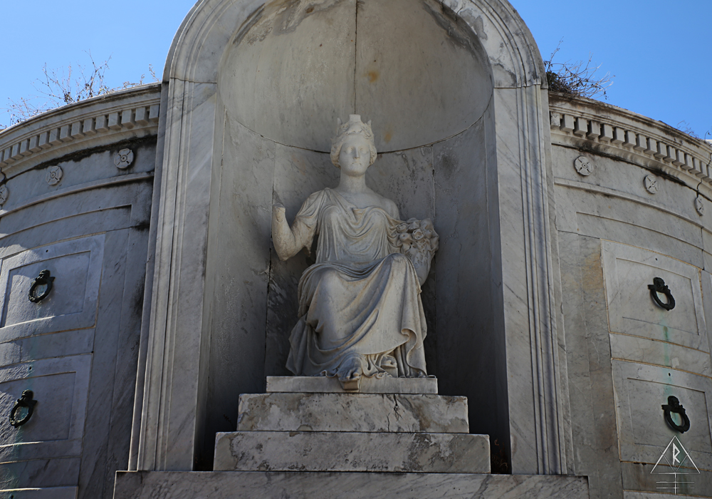 Italian Society Tomb, St. Louis Cemetery No. 1, 1539 Jackson Ave, Suite 415, New Orleans, LA 70130.