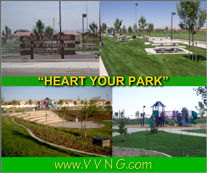Mesa Linda Park Victorville Directions