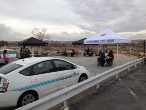 Photo of the HOPE Program Outreach on Tuesday, December 16th