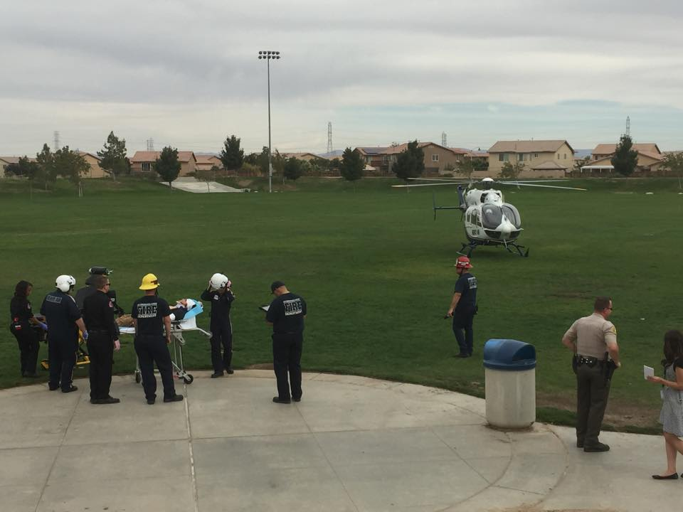 Juvenile Riding a Bicycle Airlifted After Colliding With a