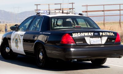 A California Highway Patrol (CHP) unit is parked along the 15 Freeway (VVNG File Photo) (Gabriel D. Espinoza, Victor Valley News)