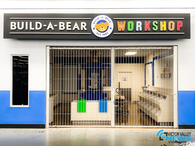 Build-A-Bear inside Walmart at 12234 Palmdale Rd, Victorville, Calif. 92392