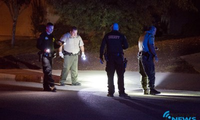 Deputies located several shell casings. (Hugo C. Valdez, Victor Valley News)