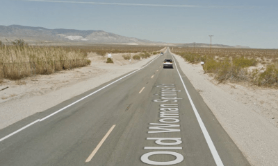 For reasons still unknown, the Honda Shadow slid into the oncoming lane resulting in a head-on collision with the Mitsubishi Fuso. (Google Maps)