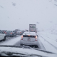 Southbound I-15 in the cajon pass at about 1:00 pm. (Photo by Lee n Lucy Jasmin)