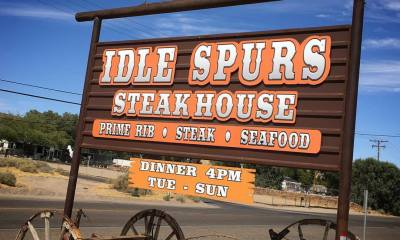 idle spurs steakhouse in barstow closed