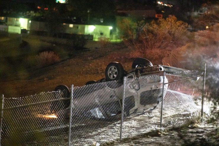 victorville rollover crash