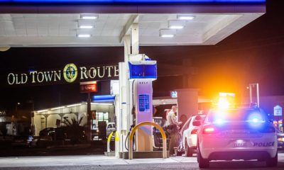 Matthew Yates was arrested after he was caught driving a stolen vehicle. (Hugo C. Valdez, VVNG.com)