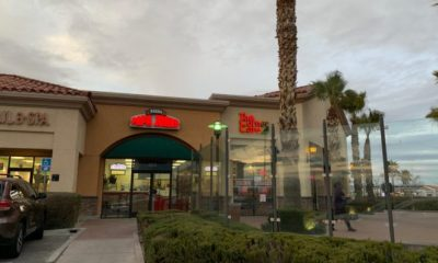victorville business windows smashed