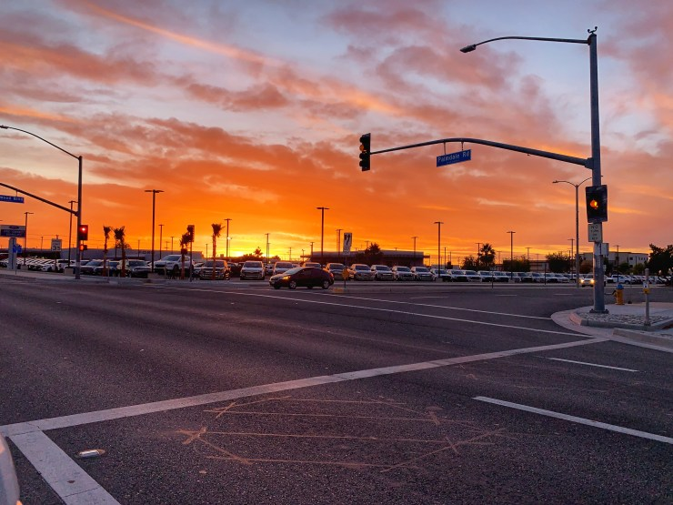 Photo taken on Monday, June 15, 2020 from the intersection of Palmdale Road and Kenwood Blvd. in Victorville. (Hugo C. Valdez, VVNG.com)