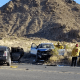 Two people were killed in a Friday morning crash on Highway 18 in Lucerne Valley. (photo Pam Romero Hardwick)