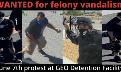 Photos of additional suspects are being released and anyone with information is urged to contact the Victor Valley Station, Detective Alex Pangburn at (760)552-6800.