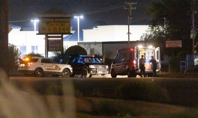 A man in his 20's was pronounced deceased at the scene. (Gabriel D. Espinoza, Victor Valley News)