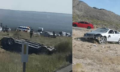 fatal rollover crash on I-15 freeway