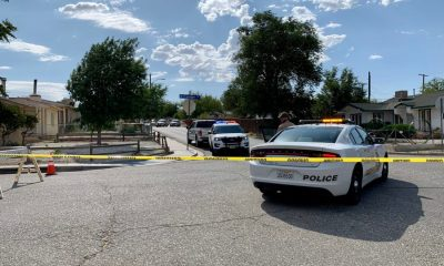 stand-off on verde street in Victorville