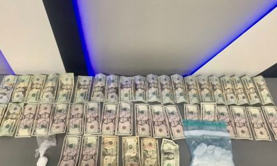 Deputy J. Hernandez arrested a Victorville man on drug charges and participating in a criminal street gang.(SBSD Victorville Police Department)