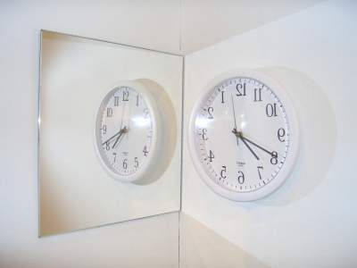 the mirrorclock
