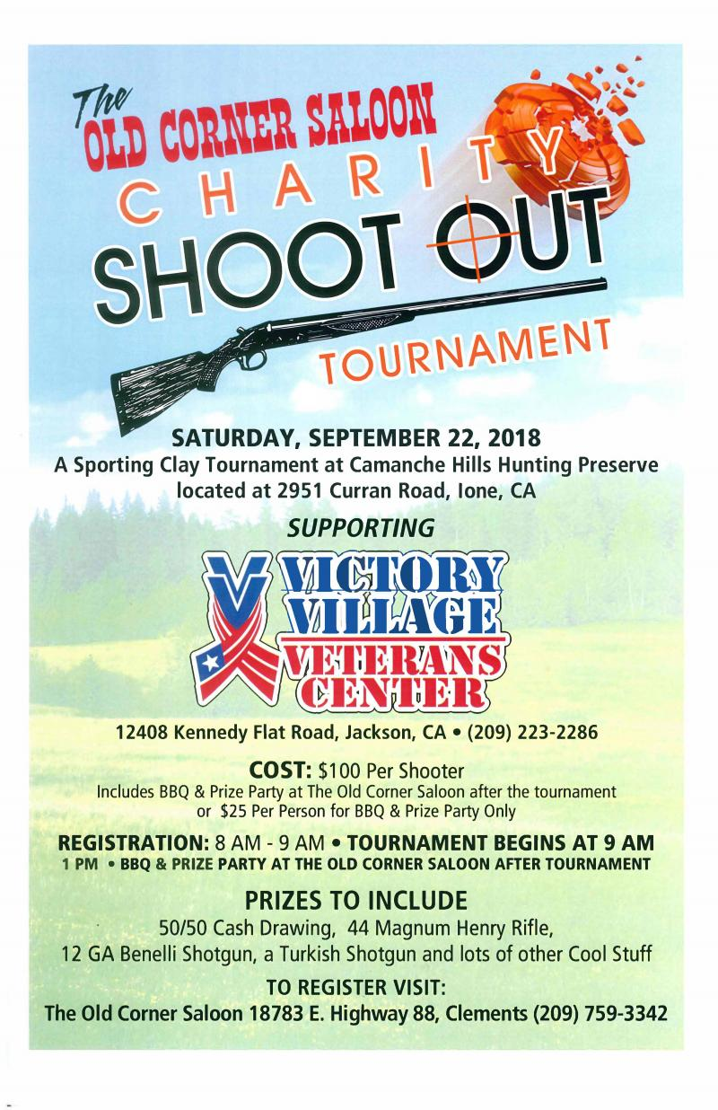 Victory Village Charity Shoot Out