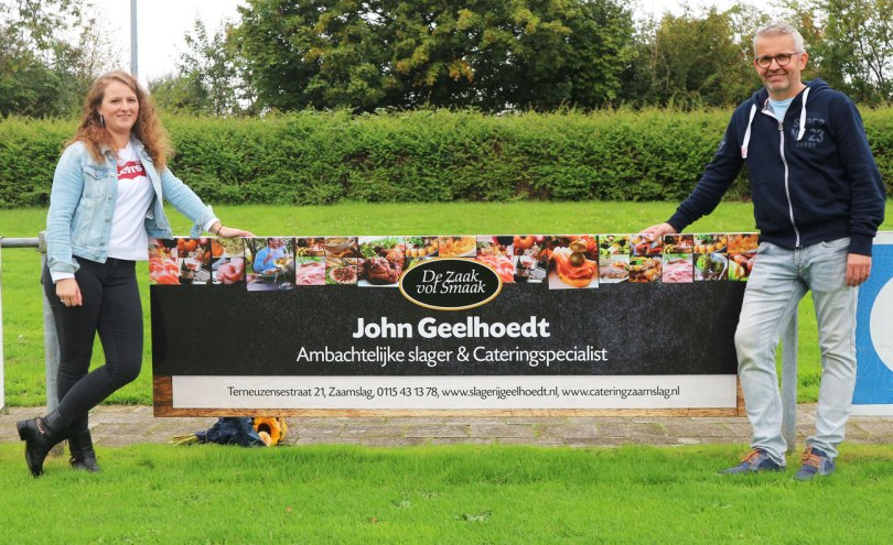 Sponsoring Slagerij Geelhoedt