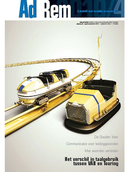 2010/4 – Het verschil in taalgebruik tussen VAB en Touring