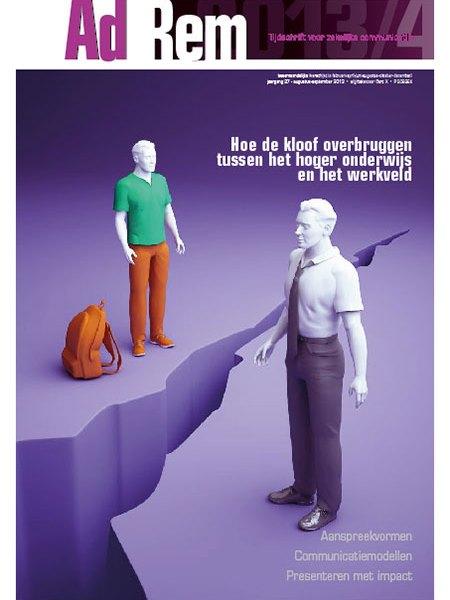 2013/4 – Hoe de kloof overbruggen tussen het hoger onderwijs en het werkveld