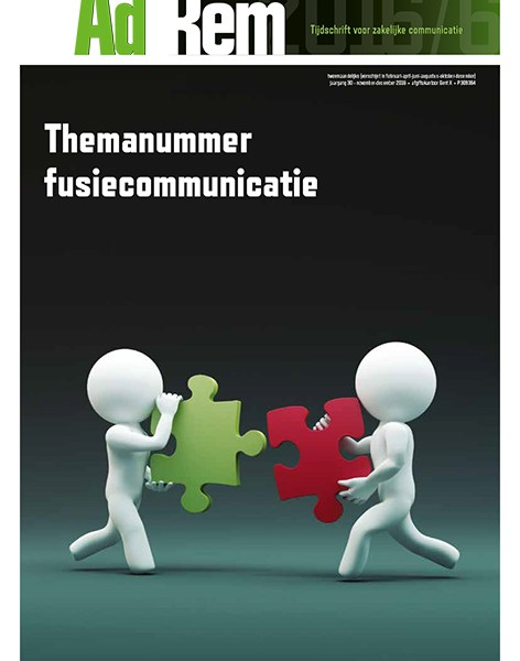 Ad Rem 2016/6 – Themanummer Fusiecommunicatie