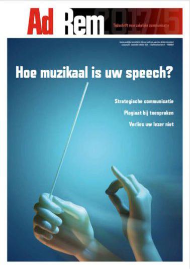 2017/5 – Hoe muzikaal is uw speech?