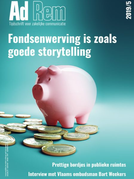2019/4 – Fondsenwerving is zoals goede storytelling